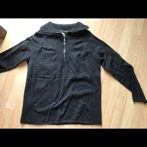 Eddie Bauer Women's Quarter Zip Sweater NWT
